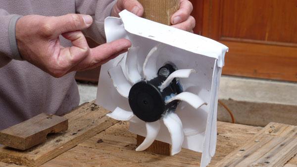 Notre mini turbine
